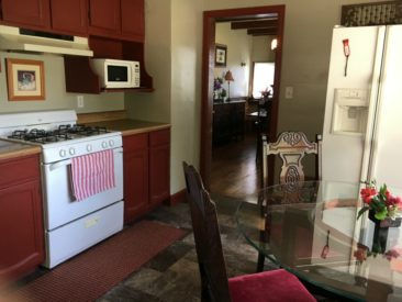 Kitchen at Guest House at Cedar Lake, Winterset IA